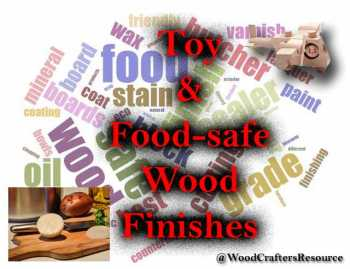 The definitive guide to all-natural food-safe, toy and furniture wood finishes and sealers